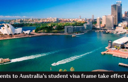 Improvements to Australia's student visa frame take effect as of July 1