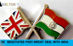 UK NEGOTIATES POST-BREXIT DEAL WITH INDIA
