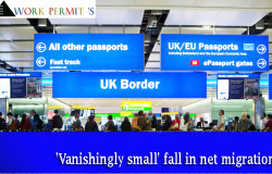 Brexit will cause 'vanishingly small' fall in net migration